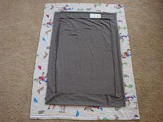 pack n play sheet. no elastic