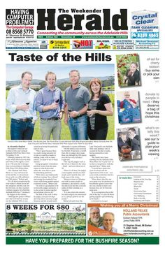 Latest edition now online. Visit http://adelaidehills.realviewtechnologies.com/