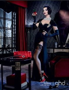 KATY PERRY | GHD HAIR TOOLS CAMPAIGN PHOTOGRAPHED BY DAVID LACHAPPELLE