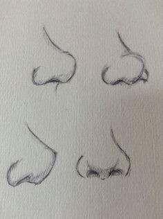 Karakalem burun çizimi, karakalem burun nasıl çizilir, karakalem burun çizim örnekleri, karakalem resimli burun çizimleri