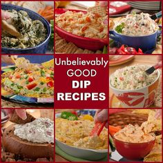Thankfully, our 35 Unbelievably Good Dip Recipes will save your next function - whether it's a backyard barbecue, football party, or holiday celebration. From cold dip recipes to healthy dip recipes, we've got a delicious spread awaiting!