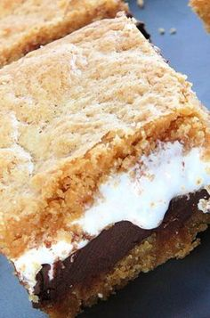 Baked Smores.... these will change your life