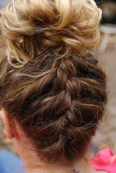 Braid Styles for Long Hair – Lavish Braids Volleyball Hairstyles, Gym Hairstyles, Short Hairstyles For Women, Braided Hairstyles, Braided Ponytail, Updo Hairstyle, Everyday Hairstyles, Gymnastics Hairstyles, Wedding Hairstyles