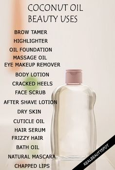 20 Best DIY coconut oil beauty products