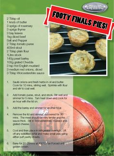 Create your own meat pies