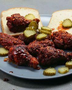 Nashville-Style Hot Wings