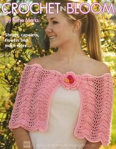 Crochet In Bloom - I Crochet World Crochet World, Zig Zag, Diy Clothes, Arm Warmers, Free Pattern, Crochet Necklace, Crochet Patterns, Bloom, Crochet Hats