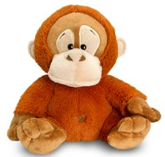 Personalised Orangutan Teddy £16.99 Father's Day Personalised Gift Ideas