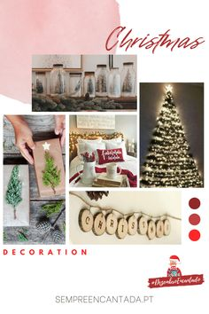 #Natal #DezembroEncantado #Christmas #Canva #Pinterest #Red #Inspiracion Advent Calendar, Blog, Canvas, Holiday Decor, Red, Christmas, Instagram, Home Decor, December