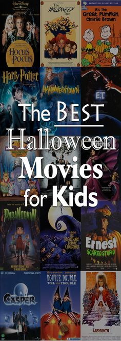 The Best Halloween Movies for Kids... except the labryinth