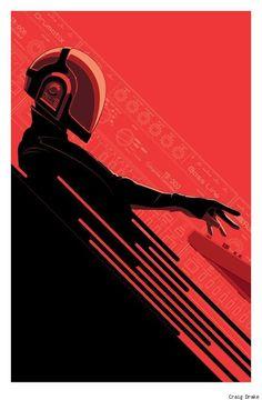 Daft Punk by Craig Drake