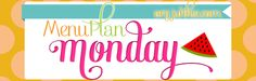 I love this site for  menu planning.  I must be more intentional about doing this on Sundays or Mondays so my week doesn't feel so scattered and crazy meal-wise.