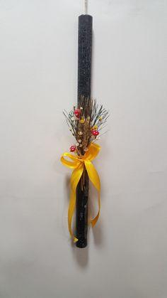 Αρωματική λαμπάδα μαύρη ορχιδεα Handmade Candles, Brooch, Jewelry, Decor, Jewlery, Decoration, Jewerly, Brooches, Schmuck