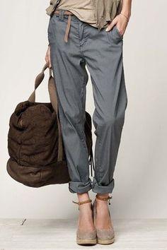 ガウチョは飽きた。スリムはイヤ。そんなあなたにタックパンツの着こなし術。