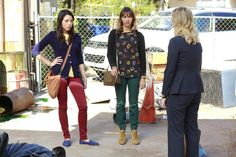 Digging April (Aubrey Plaza) and Ann (Rashida Jones)'s style in next weeks ep.