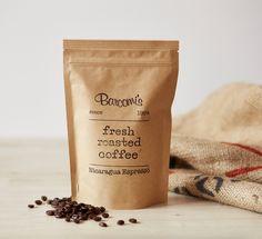 Barcomi's Kaffee :: Nicaragua Espresso SHG