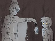 Bad End Friends Beast Wirt (Over the Garden Wall)and Bipper (Gravity Falls) Gravity Falls Crossover, Gravity Falls Fan Art, Fandom Crossover, Me Anime, Fanarts Anime, Garden Falls, Bipper, Bad Friends, Over The Garden Wall