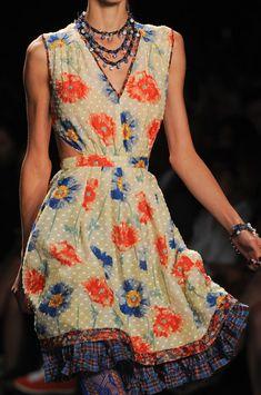 Anna Sui at New York Fashion Week Spring 2013 - StyleBistro