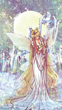 Sailor moon makes for some beautiful fan art