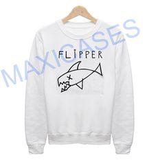 Flipper Kurt Cobain Nirvana Grunge Sweatshirt Sweater Unisex Adults size S to 2XL