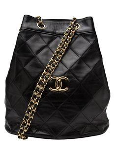 Chanel Vintage Bucket shoulder bag