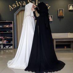 Niqab Fashion, Muslim Fashion, Ethnic Fashion, Fashion Outfits, Muslim Hijab, Muslim Dress, Hijab Dress, Muslim Girls, Muslim Women