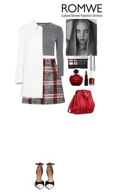 """Romwe contest"" by eliza-redkina ❤ liked on Polyvore featuring Carven, Glamorous, RED Valentino, Givenchy, NARS Cosmetics, Essie, Smashbox, Christian Dior, women's clothing and women's fashion"
