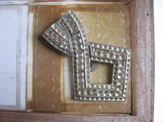 Deco Paste Dress Clip w Square Rhinestones by myvictoriancottage