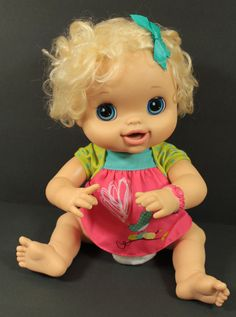 Blonde My Baby Alive Doll 2010 Interactive Talks b3f68bf369