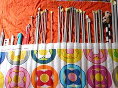 How to Sew a Knitting Needle Roll Up: 12 steps - wikiHow