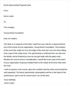 A proposal letter is a formal document which is created especially for the purpose of offering arrangements for any task or activity. Sample Proposal Letter, Letter Sample, Event Proposal Template, Sponsorship Letter, Email Writing, Letter Templates Free, Business Proposal, Financial Statement, Sample Resume