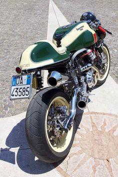 RocketGarage Cafe Racer | La Permalosa by Unique Cycle Work
