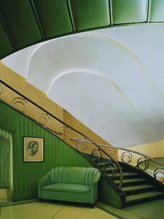 Havanna Cuba / Art Deco stairway