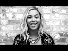 "Although Queen Bey couldn't be at Ann Arbor's Michigan Stadium in person, she sent a ""Go blue!"" via this video message. 