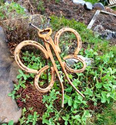 Garden Butterfly - welded yard art  Bridget Mayfield