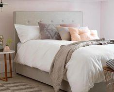 Κρεβάτι διπλό 'Εμιλη 1.60x200 | Hugmaison Single Divan Beds, Single Beds With Storage, Ottoman Bed, Bed Storage, King Size, Contemporary, Luxury, Farm House, Furniture