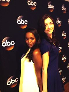 Aja Naomi King and Kate Findlay