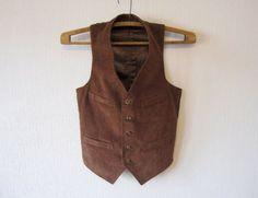 Brown Corduroy Vest