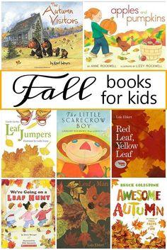 Favorite fall picture books for preschool and kindergarten