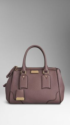 4a23439789 Love this: Small Signature Grain Leather Tote Bag @Lyst Burberry 2015,  Burberry Sale