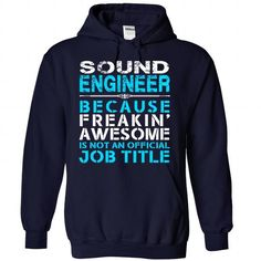 Sound Engineer - #gift for him #photo gift. THE BEST => https://www.sunfrog.com/LifeStyle/Sound-Engineer-2513-NavyBlue-34447877-Hoodie.html?id=60505