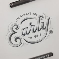 30 Amazing Hand Lettering Designs | From up North