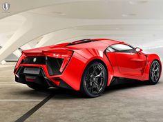 Lykan HyperSport, el coche rojo rapidos y furiosos 7 | Atraccion360