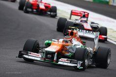 Nico Hulkenberg, Force India, Interlagos, 2012