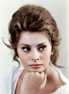 SOPHIA LOREN ***** AFI Top 25 Actresses > Born Sofia Villani Scicolone 20 Sept 1934 (age Rome, Italy > Nationality Italian > Occupation: Actress > Years active > Spouse(s): Carlo Ponti, annulled; his death) > Children 2 Hollywood Icons, Hollywood Stars, Hollywood Actresses, Classic Hollywood, Old Hollywood, Hollywood Divas, Marlene Dietrich, Rita Hayworth, Carlo Ponti