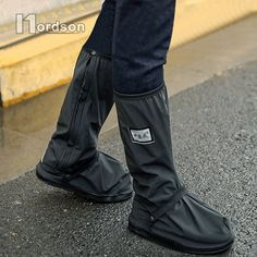 """HOT PRICES FROM ALI - Buy """"With Reflectors Waterproof Non-slip Motorcycle Cycling Bike Rain Boot Shoes Covers wear thicker for Motorcycle Scooter"""" from category """"Automobiles & Motorcycles"""" for only USD. Basket Style, Rain Shoes, Shoe Boots, Shoe Bag, Cycling Bikes, Baskets, Motorcycle Accessories, Riding Boots, Footwear"""