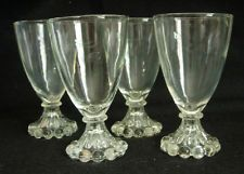 Anchor Hocking Boopie Berwick Juice Glass Vintage Retro Lucy Four (4) Available