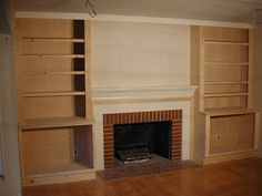 10 Determined Clever Hacks: Living Room Remodel On A Budget Cabinet Colors living room remodel before and after small spaces.Livingroom Remodel House living room remodel with fireplace floor plans.Living Room Remodel With Fireplace Floor Plans. Bookshelves Around Fireplace, Fireplace Built Ins, Fireplace Design, Fireplace Wall, Basement Remodeling, Basement Storage, Basement Plans, Basement Ideas, Remodeling Ideas