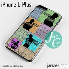 SHERLOCK holmes Phone case for iPhone 6 Plus and other iPhone devices