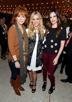 Reba McEntire, Reese Witherspoon, and Kacey Musgraves at the Draper James Nashville Store Opening | Love, Reese Blog | Draper James